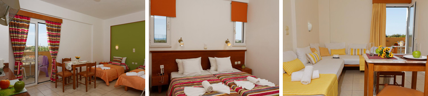 Danelis Studios & Apartments 3* - недорогой апарт отель на Крите