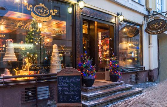 Тур Новый год в Вильнюсе и Рига