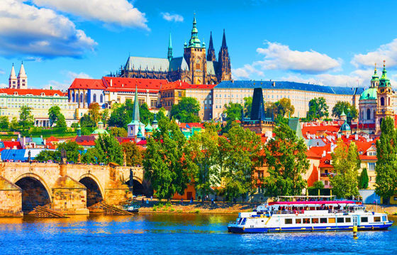 Тур Прага-Вена-Будапешт из СПб
