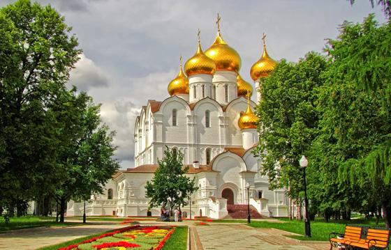Золотое кольцо России, автобусный тур из СПб